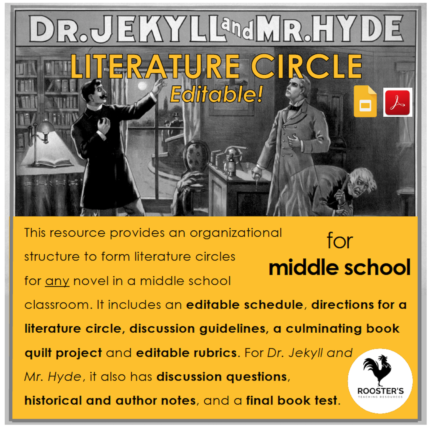 literature circles curriculum cover