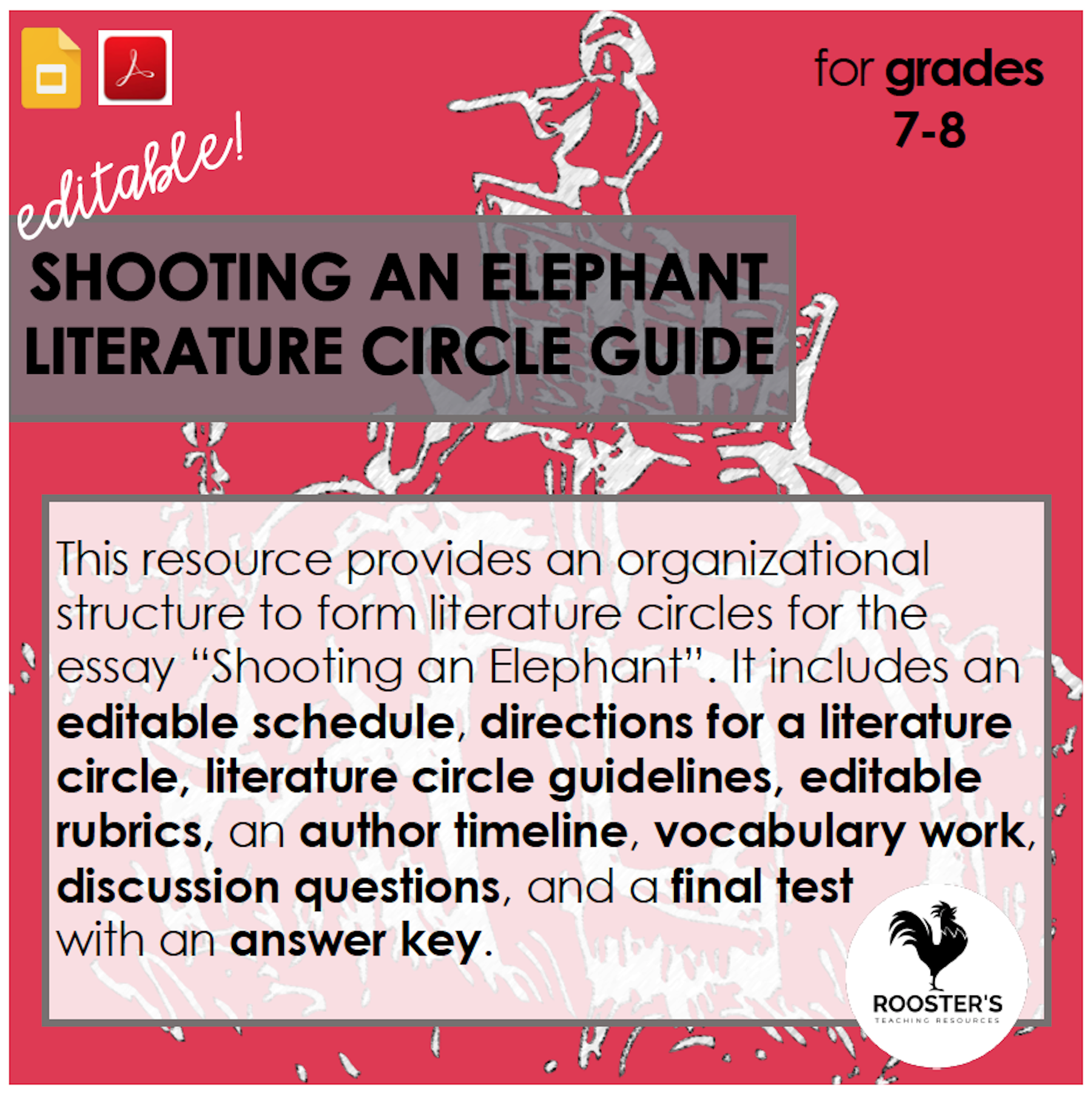 shooting-an-elephant-literature-circle