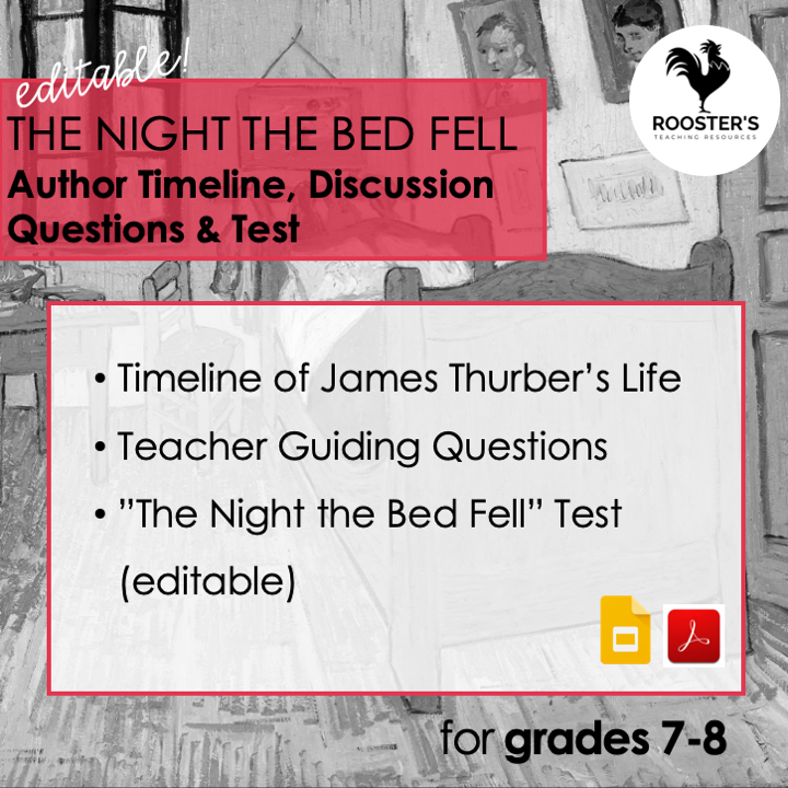 why read the classics author questions the night the bed fell