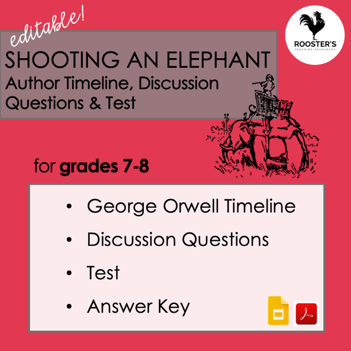 why read the classics shooting an elephant