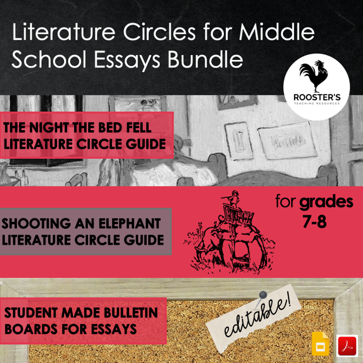 why study the classics literature circle essays bundle
